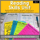 Reading Skills Complete Unit: Reference Sheets, Activity Sheets, Organizers...