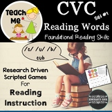 CVC Literacy Lessons and Games: Teach Me to Read