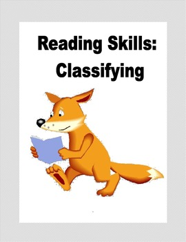 Reading Skills: Classifying Practice for Grades 3 and 4