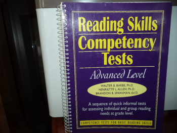 Reading Skills Competency Tests  ISıN#0-13-021333-0