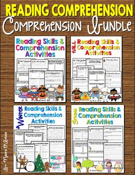 Reading Skills & Comprehension Activities Bundle