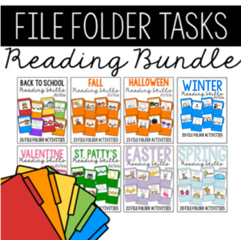 Reading Skills File Folders BUNDLE