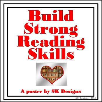Reading Skills Free Poster