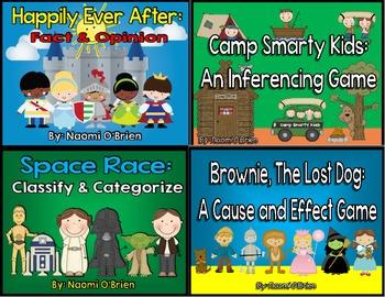 Reading Skills Game Bundle!