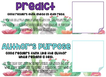 Reading Skills Graphic Organizers for Any Passage
