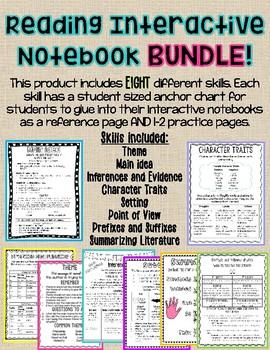 Reading Skills Interactive Notebook BUNDLE