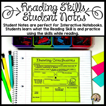 Reading Skills Lessons and Practice Bundle