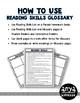 Reading Skills List and Glossary