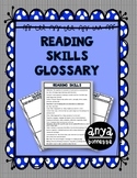 Reading Skills List and Glossary