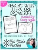 Reading Skills Literature Organizers (R.L.3.1 - R.L.3.7 &