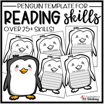 Reading Skills Penguin Template