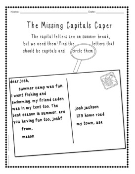 Reading Skills Review for 1st Grade Graduates with Digital Task Cards