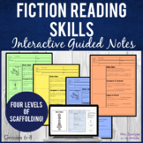 Fiction Reading Skills Pixanotes® +ZAP game! Full Lesson -