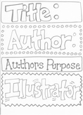 Reading Skills Poster Printables- Different and Cute!