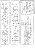 Reading Skills Poster Printables III