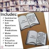 Reading Skills Poster Set