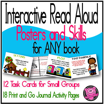 Interactive Read Alouds Activities and Posters