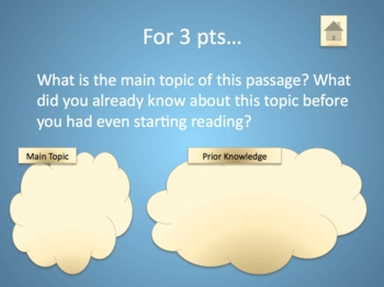 Reading Skills Power Point Game Platinum Edition