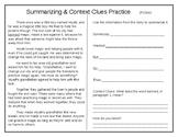 Reading Skills Practice