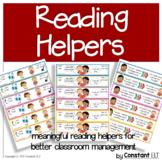 Decoding Strategies: Reading Helpers