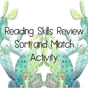 Reading Skills Review
