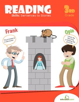 Reading Skills: Sentences to Stories Workbook