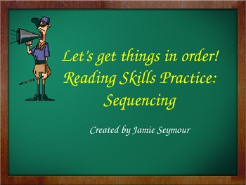 Reading Skills: Sequential Order