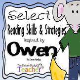 Reading Skills & Strategies Packet inspired by Owen by Kevin Henkes