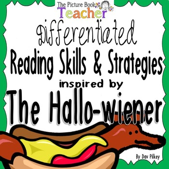 Reading Skills & Strategies Packet inspired by The Hallowiener