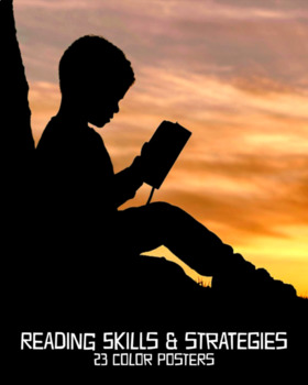 Reading Skills & Strategies Posters, Set of 23