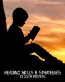 Reading Skills & Strategies Posters, Set of 23