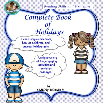 Non-Fiction passages and printables for Holidays