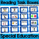 Reading Task Boxes