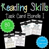 Reading Skills Task Card Bundle I