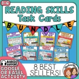 Reading Strategies Task Card Bundle  8 of the Best Selling Sets on TpT!