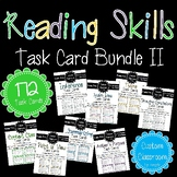 Reading Skills Task Card Bundle II