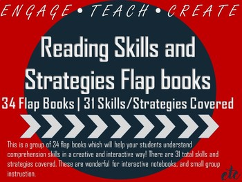 Reading Skills and Strategies Flap Books