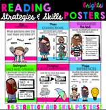 Reading Skills and Strategies Poster Set