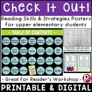 Reading Skills and Strategies Reference Charts