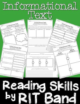 Reading Skills by RIT Band-Informational Text