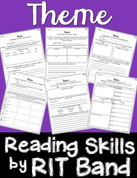 Reading Skills by RIT Band-Theme