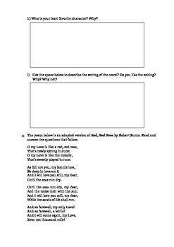 Reading Skills for 3rd Grade