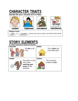 Reading Skills for an Interactive Reader's Notebook