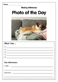 Reading Skills using Photos- Making Inferences 4 WEEKS OF