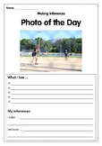 Reading Skills using Photos- Making Inferences 2 WEEKS OF