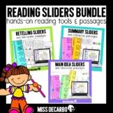 Reading Sliders Bundle Digital Distance Learning