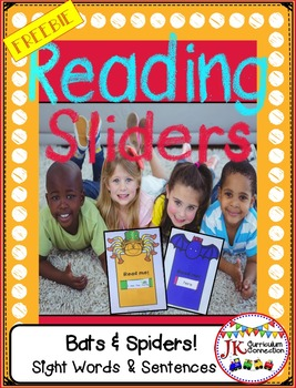 Reading Sliders FREEBIE Sample Set