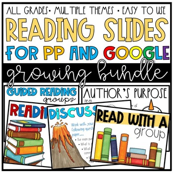 Reading Slides (for GOOGLE and PPT!)