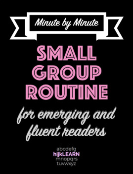 Reading Small Group Routine Outline