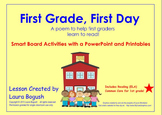 "Beginning of the Year Reading Smart Board Lesson ""First Gr"